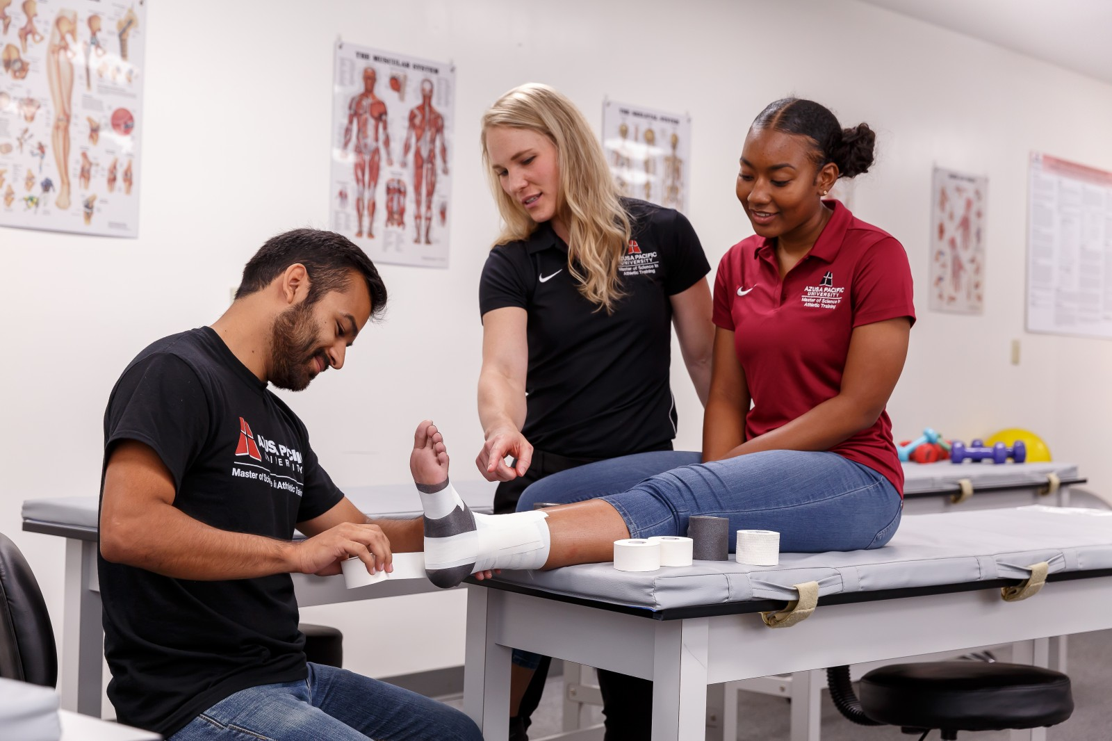 The Department of Kinesiology equips students who are academically engaged, relationally centered, vocationally aware, and wellness oriented using approaches that are discipline based and grounded in a Christian worldview.