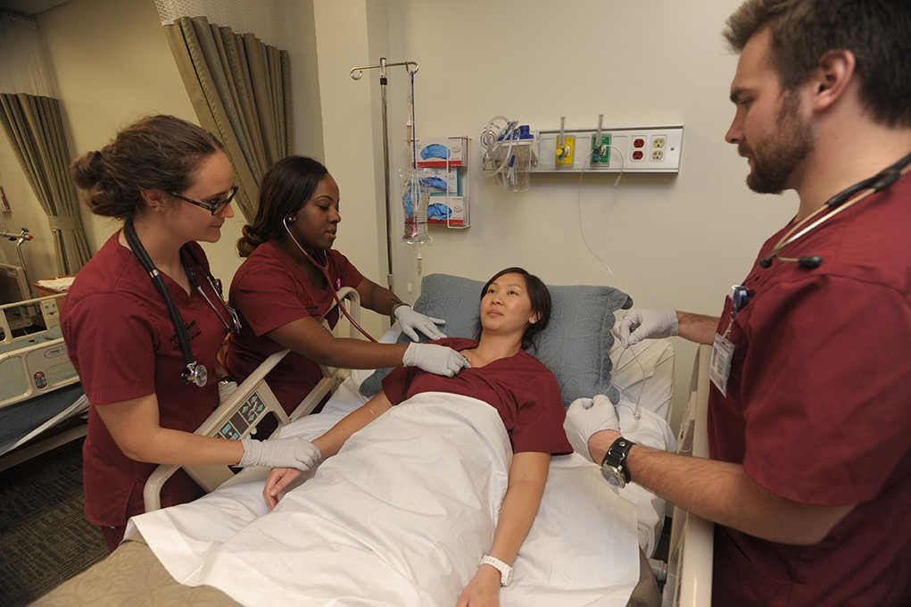APU's 2+2 Upper-Division Transfer Program allows students to transfer in coursework from other schools and complete their Bachelor of Science in Nursing (BSN) at APU in six consecutive semesters, including summers.