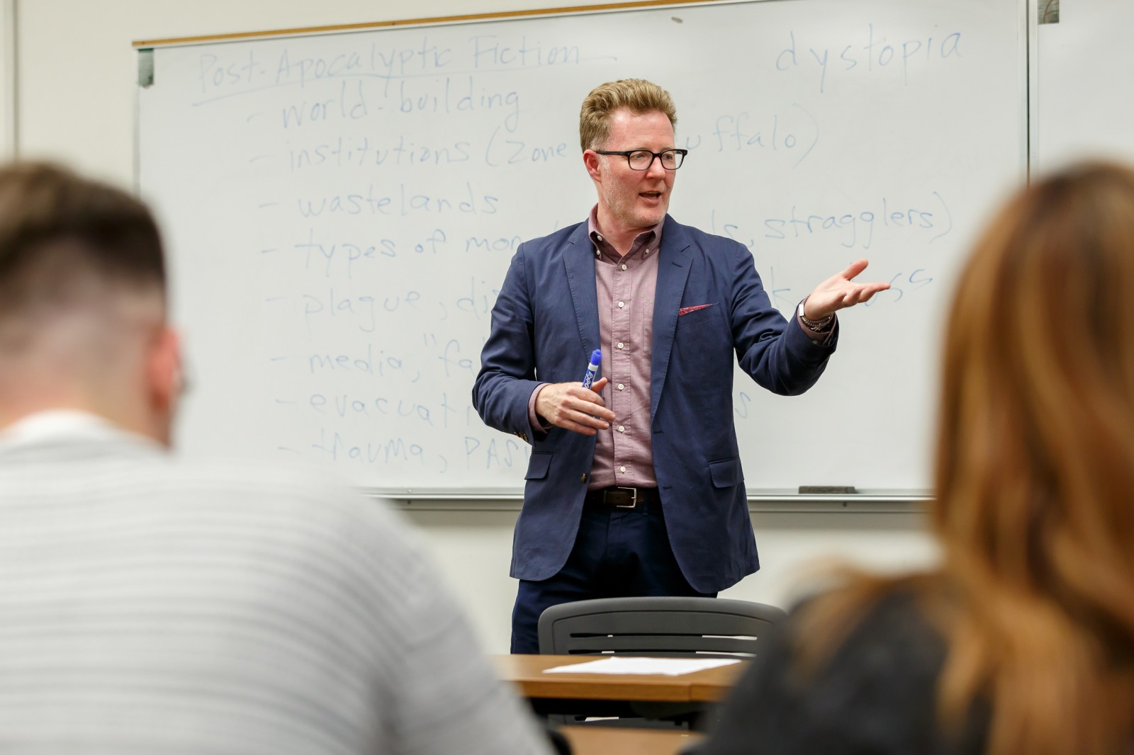 Azusa Pacific's M.A. in English prepares students for careers in literary studies, which includes the subfields of literature, cultural/film studies, and creative and/or professional writing.