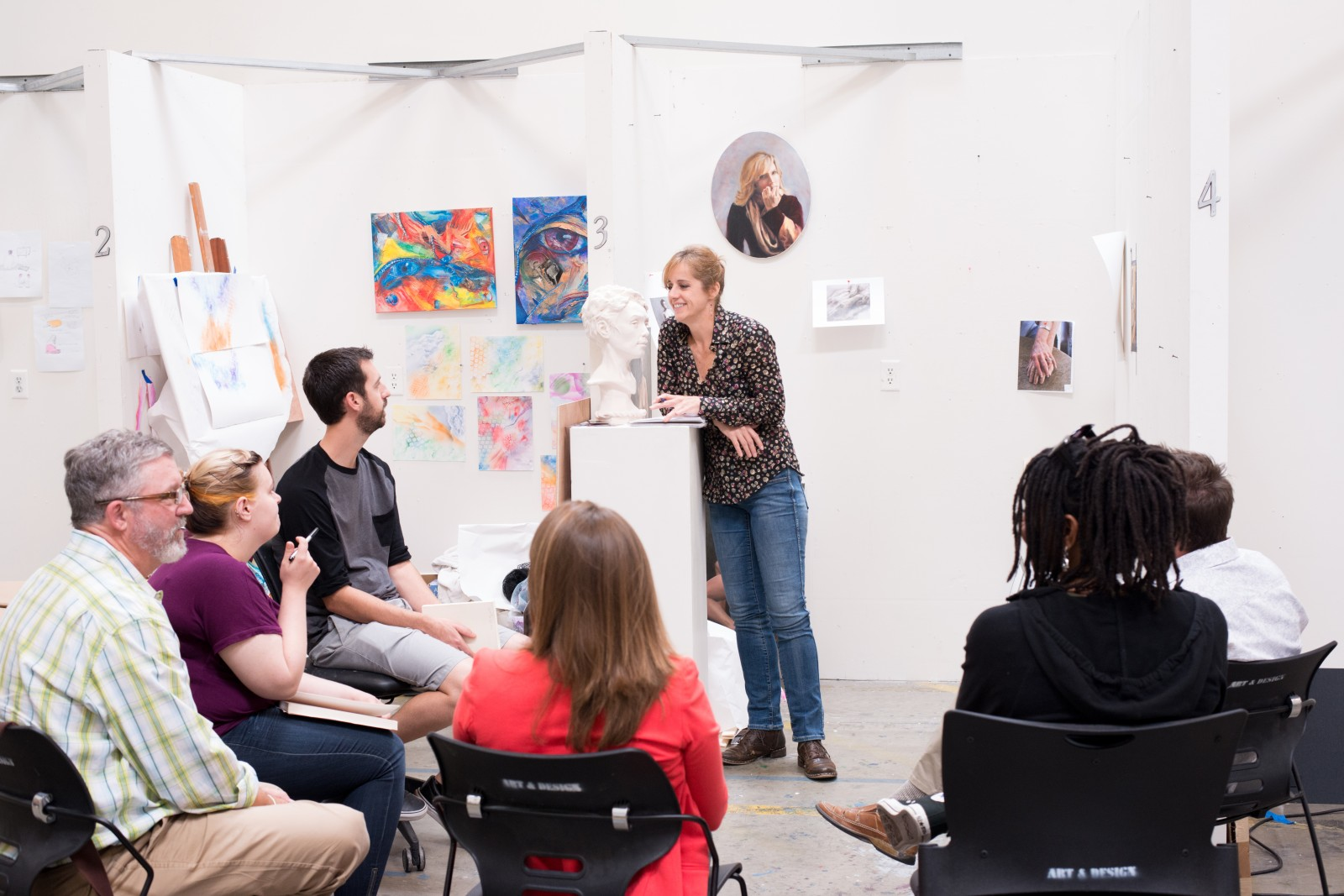 APU's 37-month, low-residency MFA program accommodates the working artist/educator and centers primarily on studio activity and the integration of faith and art.