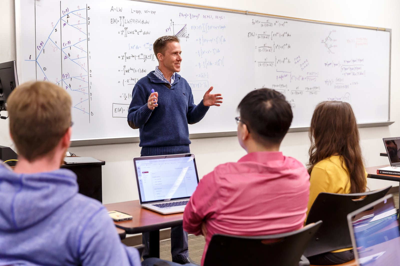 APU's mathematics minor prepares students for careers as quantitative experts in a variety of fields.