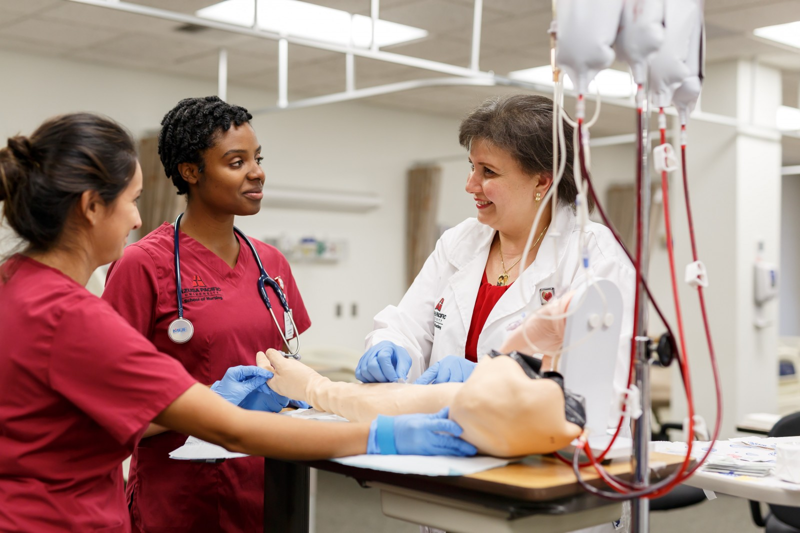 APU's Entry-Level Master's in Nursing (ELM) program is designed for students who hold baccalaureate or higher degrees in other disciplines but want to pursue bachelor's and master's degrees in nursing.